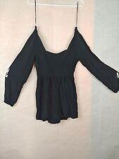 Cotton:on Romper Shorts color Black   Size XS/pp NWT Zipper