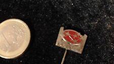 Subaru Anstecknadel Auto kein Pin Badge Logo Emblem silber rot Kult alt rare