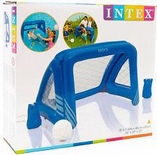 Intex 58507 Inflable Portería Wasserballtor Con Balón & Red 140 x 89 x 81cm