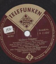 Werner-Septett  +  FFB Orchester Berlin  : Südsee-Träume - Hawaii Potpourri