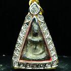 Phra Wat Nang Phaya  Phitsanulok Earthen base Thai Buddha Amulet Micron casing 3