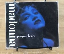 Madonna Open Your Heart CD Single 1986 Sire Records 7599 20597-2 Made In Germany