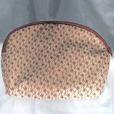 Vintage 1980s Mary Kay Bag Cosmetics Travel Case Fabric MK Zipper EUC