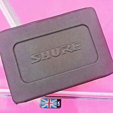Shure headband soft shell microphone zipped case (new)