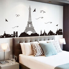 Bedroom Home Decor Removable Paris Eiffel Tower Art Decal Wall Sticker Mural FE
