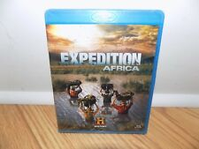 Expedition Africa (Blu-ray Disc, 2009, 2-Disc Set) History Channel BRAND NEW!!!