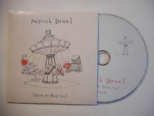 PATRICK BRUEL : LETTRE AU PERE NOEL ♦ CD SINGLE PORT GRATUIT ♦