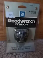 NOS Vintage GM Goodwrench Compass Dash 983335 Accessory Chevelle Camaro Corvette