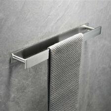 Towel Holder Bathroom Towels Hanger Brushed Nickel Wall Hanging Single Towel Bar