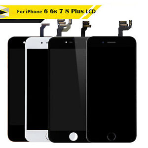 For iPhone 6 6s 6s Plus LCD Screen Touch Replacement with Camera Home Button