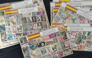 España. 50 a 2500 Sellos Diferentes - Different Stamps (Spain-Spanien-Espagne)