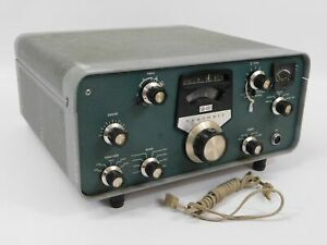 Heathkit SB-401 Ham Radio Transmitter w/ Filter (untested, for restoration)
