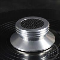 carbon fiber aluminium alloy LP Vinyl Turntables Metal Disc Stabilizer Record