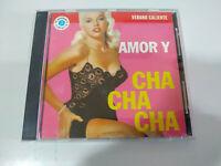 Amor y Cha Cha Cha Perez Prado Lecuona Cuban Boys Xavier Cugat - CD - 2T