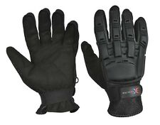New Exalter Top Brand Full Finger Gloves Black Paintball Gloves