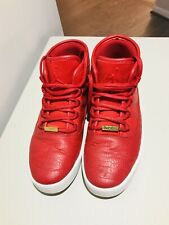 Jordan Westbrook 0 Round Toe Leather Red Shoes Size 7 Youth Boy Great Condition!