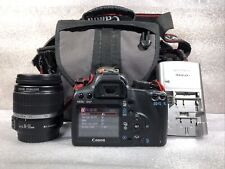 Canon EOS Rebel XS With EF-S 18-55mm Zoom Lens 1:3.5-5.6 IS In Carrying Bag