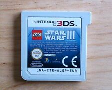 LEGO Star Wars III The Clone Wars - Nintendo 3DS / 2DS game - Age 7+ PAL