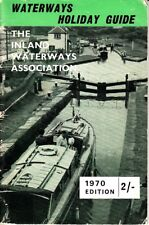 Waterways Holiday Guide 1970 UK Robert Shopland Boats Exploring England