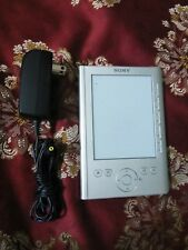 "Sony PRS-300 5"" Digital Book Reader eReader 500MB Storage Silver Tested Working"