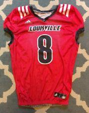 Lamar Jackson Louisville Practice Jersey Game Used Worn Baltimore Ravens