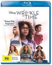 A Wrinkle In Time (Blu-ray, 2018) Ex rental