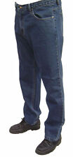 BIG SIZE MENS BOSTON STRONG WORK CASUAL LARGE JEANS  68  INCH WAIST FULL FIT NEW