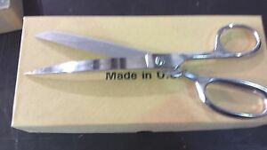 """Clauss 1329KBR 9"""" Curved Right blade Scissors Shears Right-Hand   New"""
