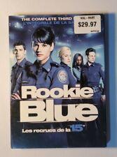 Rookie Blue: Season 3 (DVD, 2013, Canadian)