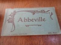 24 Vintage Postcards -  Abbeville - Northern France