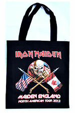 Iron Maiden Tote Bag The Trooper North American Tour Maiden England 2012 Canada