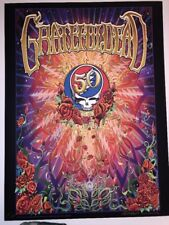 Grateful Dead 50th Anniversary Art Print Mike DuBois Limited Edition