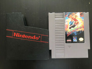 LAST ACTION HERO Nintendo NES Authentic Tested Working Game Cartridge 1993