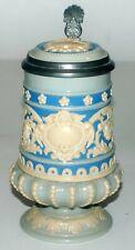 """New listing .3 Liter Mettlach Stein #1184 """"Scrollwork"""" Master is 1169 Nuremberg Artists"""