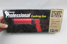 "Red Powermate Px P024-0141Sp Professional Air Caulking Gun New In Box 2"" tubes"