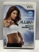 Jillian Michaels Fitness Ultimatum 2010 (Nintendo Wii, 2009) Complete Tested
