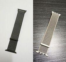 Genuine Original Apple Watch Band 42mm/44mm Sport Loop - Dark Olive or Seashell