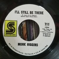 Rare! Jazz Funk 45 | Monk Higgins Baby You're Right/I'll Still Be There Sack 711