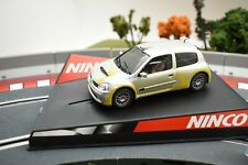 "50297 NINCO 1/32 SLOT CARS RENAULT CLIO SUPER 1600 ""SHOW CAR"""