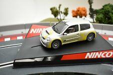 """50297 NINCO 1/32 SLOT CARS RENAULT CLIO SUPER 1600 """"SHOW CAR"""""""