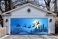 Christmas Garage Door Covers Banners Outside House Decor Billboard GD24