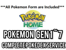 [PokeExFAT] Every Form Included Pokemon Home Complete PokeDex Service Gen 1-7