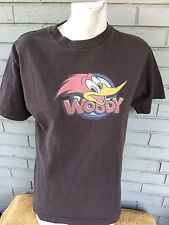Woody the Woodpecker Cartoon Medium T-Shirt Brown