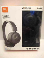 JBL T450BT Wireless On-Ear Headphones with Built-in Microphone, Pure Bass