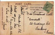 Family History Postcard - Pratt - St Audreys Road - Barking - Essex - Ref 2149A