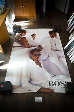 BOSS HUGO BOSS M 4x6 ft Bus Shelter Original Vintage Fashion Advertising Poster