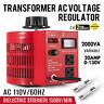 20Amp Variac Transformer Variable AC Voltage Regulator Metered 2000VA 0-130V
