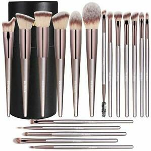 BS-MALL Makeup Brush Set 18 Pcs Premium Synthetic Foundation Powder Concealers
