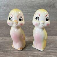 Kelvin Sourdough Jake Salt /& Pepper Shakers Ceramic Japan