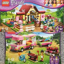 Lego Friends 3184 Wohnmobil & 3189 Pferdestall In OVP wie Neu
